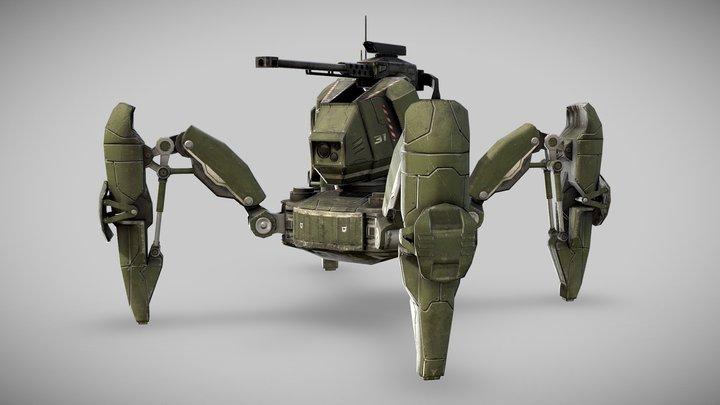 Hunter Mech 3D Model