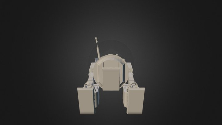 R2D2 Thingi 3D Model