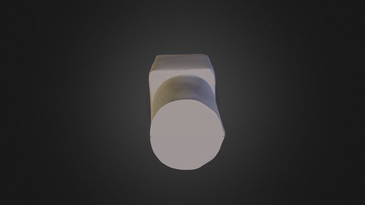 Main Structure Mirrored 3D Model
