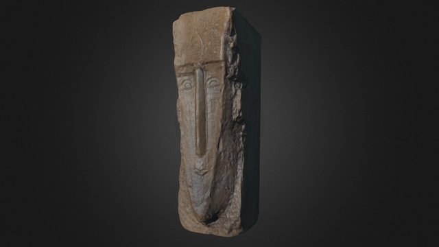 Sculpture by Modigliani 3D Model