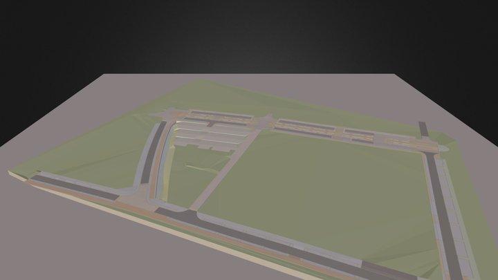 Rendu pour gabion(marche 0 3D Model