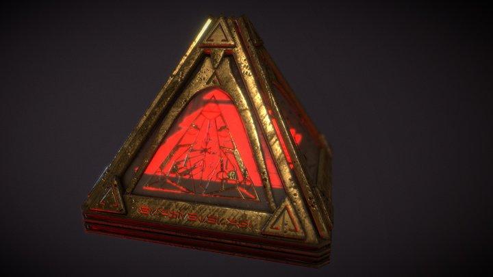 Sith Holocron 3D Model
