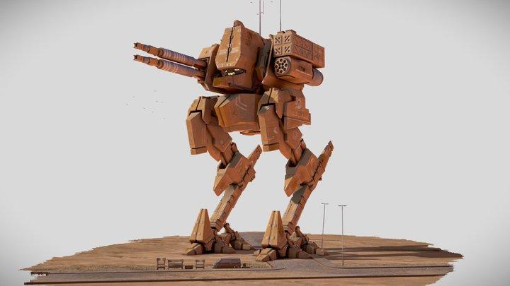 Ozymandias 2119 3D Model