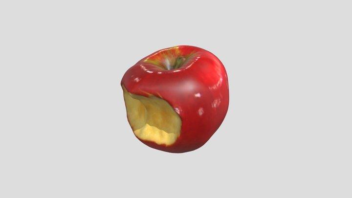 Bitten Apple 3D Scan 3D Model