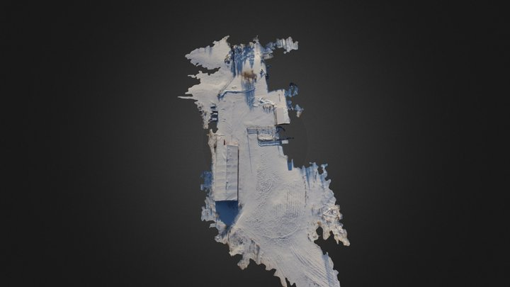 Our Yard Jan 15th Pix4d 3D Model