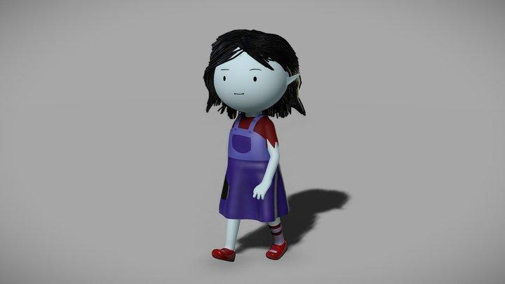 Marcy Abadeer 3D Model