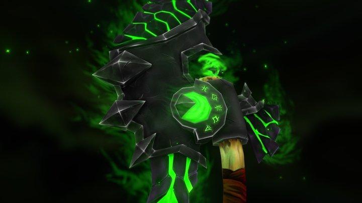 The Unforgiven: Wrath of the Legion - WoW Weapon 3D Model