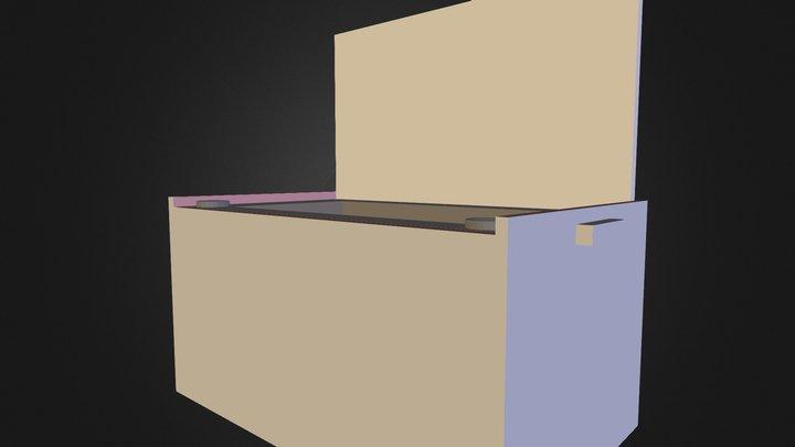 Cooler Sketch 3ds 3D Model