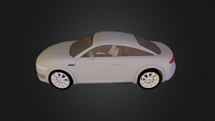 Audi Nuvolari 3D Model