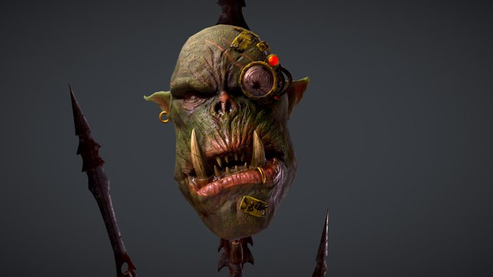 (Ork) End of the WAAGH 3D Model