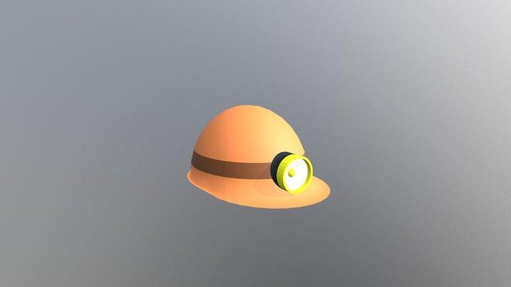 Mining Helmet 3D Model