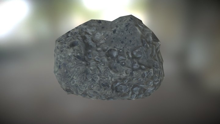 Beach Rock 8 from Photogrammetry 3D Model