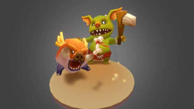 Monster 3D Model
