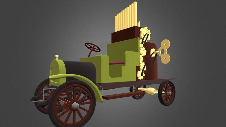 Camion à musique Garford 3D Model