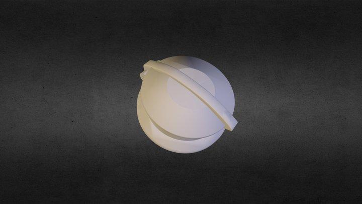 Fuelcap 01 3D Model