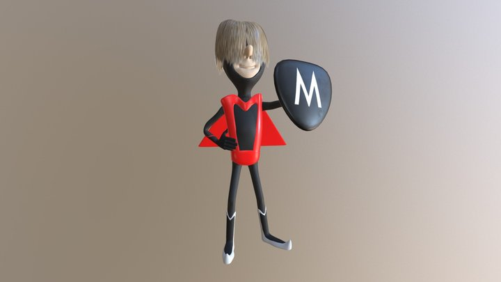 The Impossibles - Multiman 3D Model