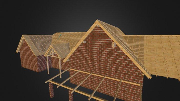 Planwerkholz_dachstuhl3d_1 3D Model