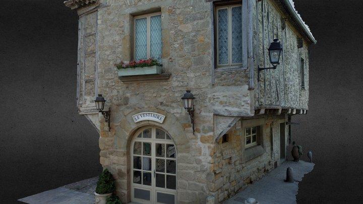 Maison médiévale, Carcassonne (11) 3D Model