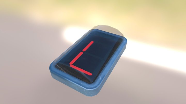 Electronic Digits 3D Model