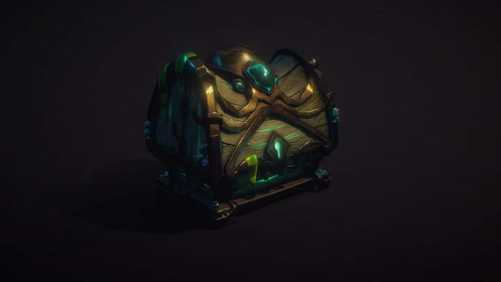 Chest Of Octopus 3D Model