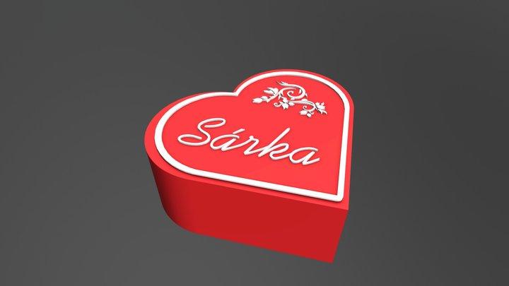 Heart Box Sarka 3D Model