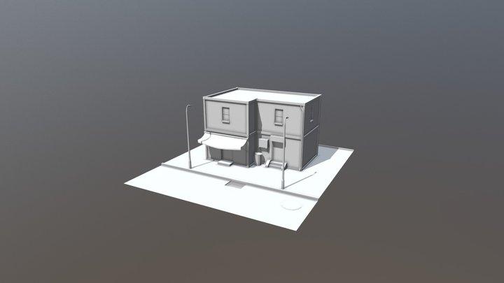 Ejercicio de clase: Edificio Modular 3D Model