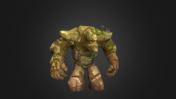 Giant Boss from Siege Of Heroes 3D Model