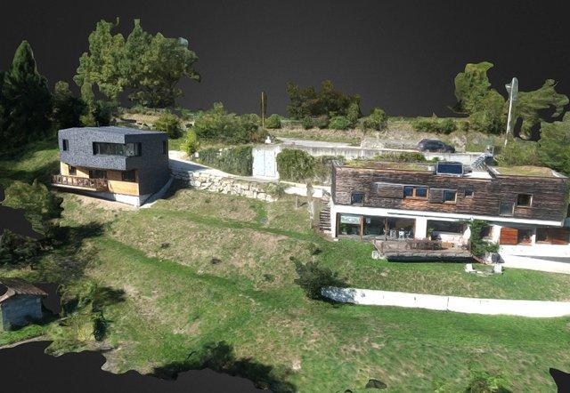 Villas Touvétaines 3D Model