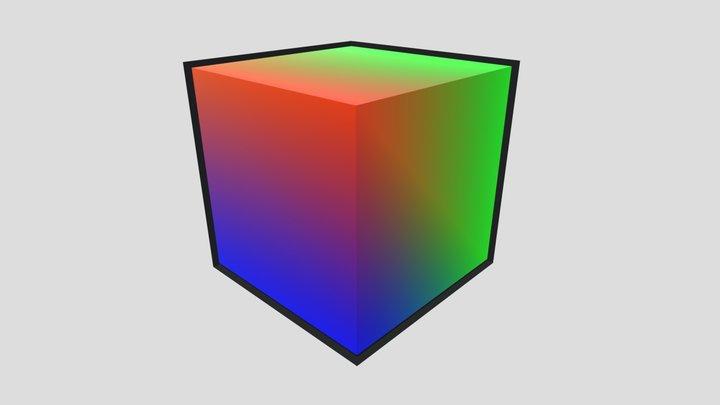 AVcube 3D Model