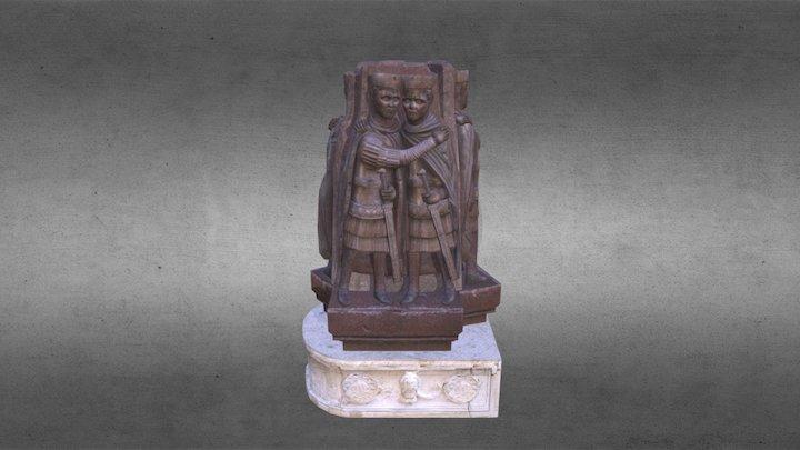 Statue Tetrarhi Model 3D Model