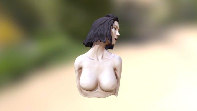 Girl01 Skechpab 3D Model