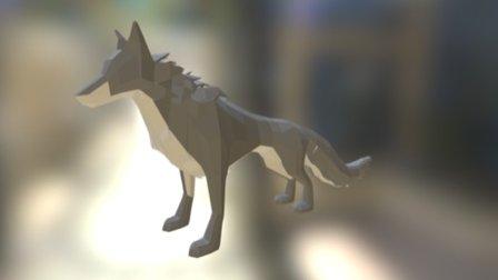 Direwolf 3D Model