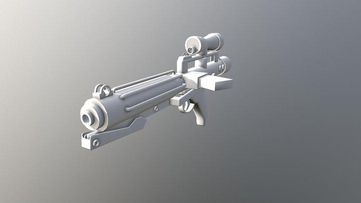 E-11 Blaster 3D Model