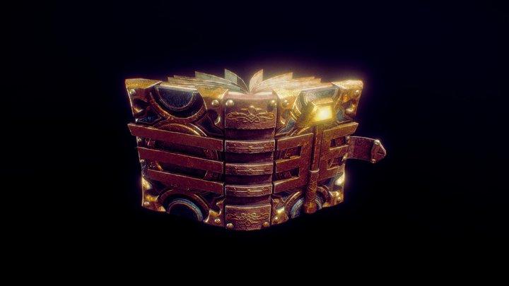 Paladin's book 3D Model