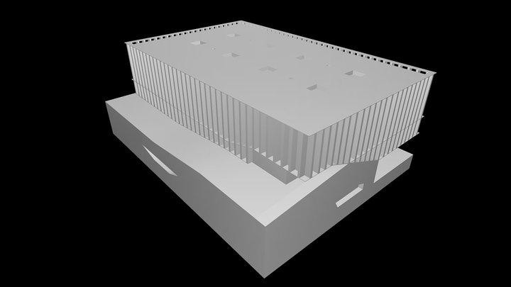 Sport Center In Neudorf - Atelier Zündel Cristea 3D Model