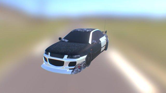 Samand Sport Version (Takeoff 3 model) 3D Model