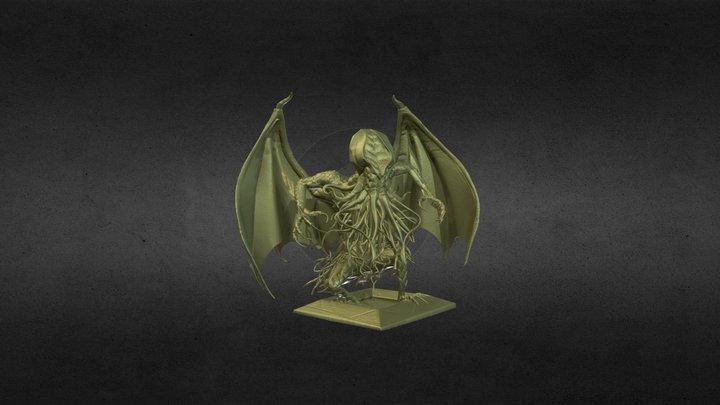 【Xray-CT】ダンボール『Cthulhu』 3D Model