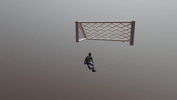 Bicycle Kick 003 3D Model