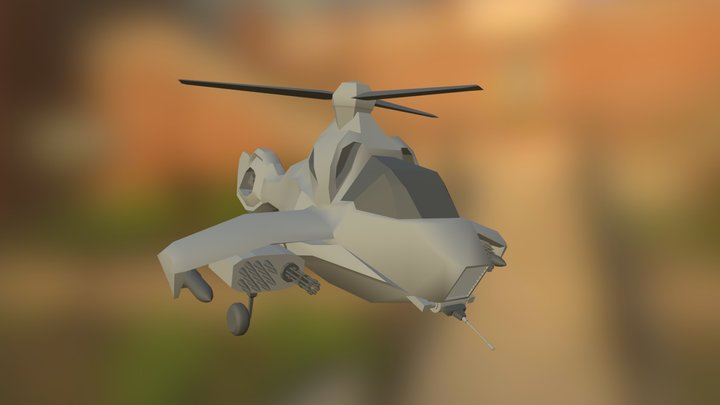 Choppa 3D Model