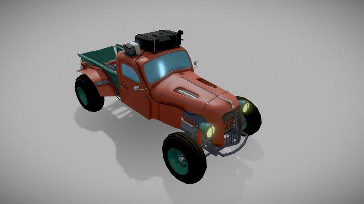 Monster Track 3D Model
