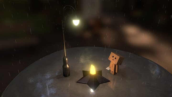 Looking for you #Danbo 3D Model
