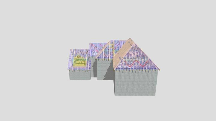 P12933 Plot 3 Hyde Cottage 3D Model