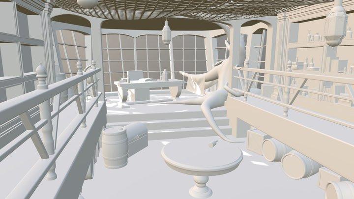 Set WIP 3D Model