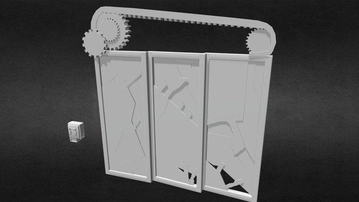 DbD_ExitGate 3D Model