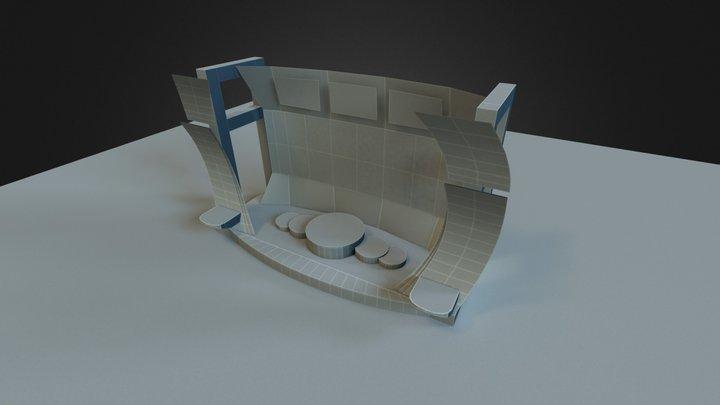 Podium Mesh start 3D Model
