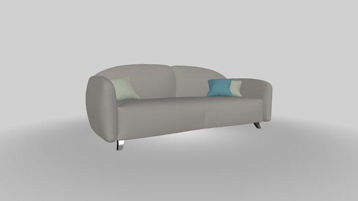 HomePlaneur - Gilmour sofa 3D Model