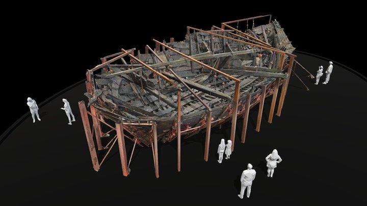 IJsselkogge Kampen 3D Model