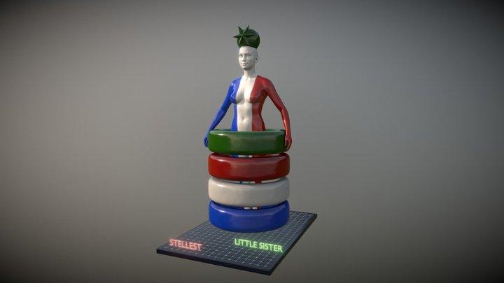 Little Sister_V1 3D Model