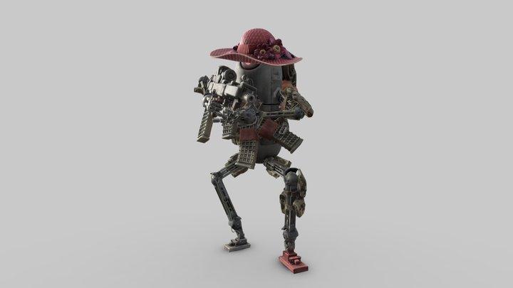 """World War Robot - """"Pumpkin Optimizer"""" 3D Model"""
