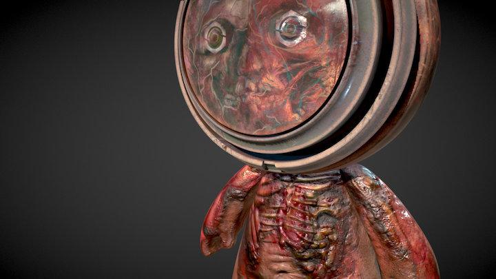 """Meet MAT: Kimberly MacNeil, """"Contamination"""" 3D Model"""